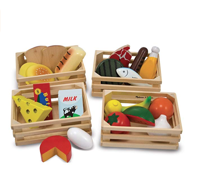 Wooden Toy Food