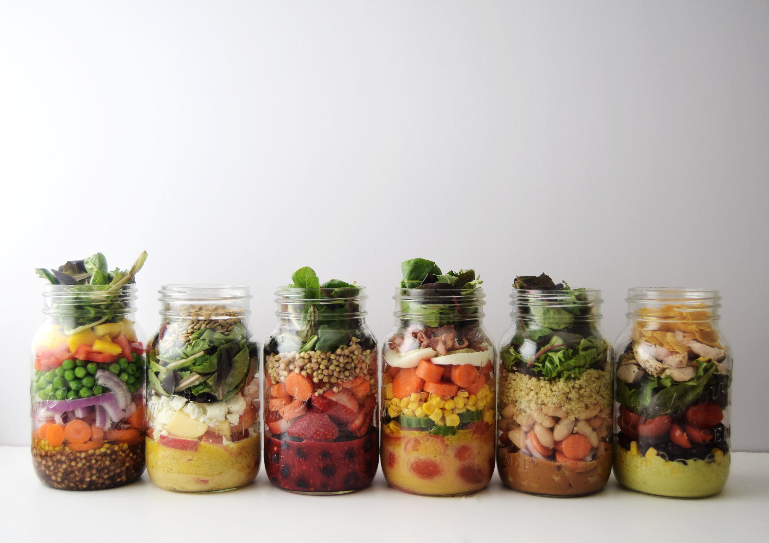 Mason Jar Salad Recipes