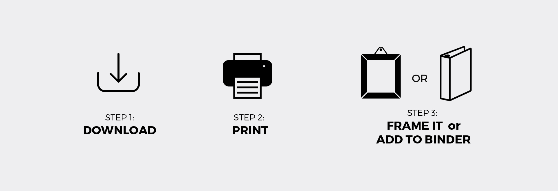 how to print our printables