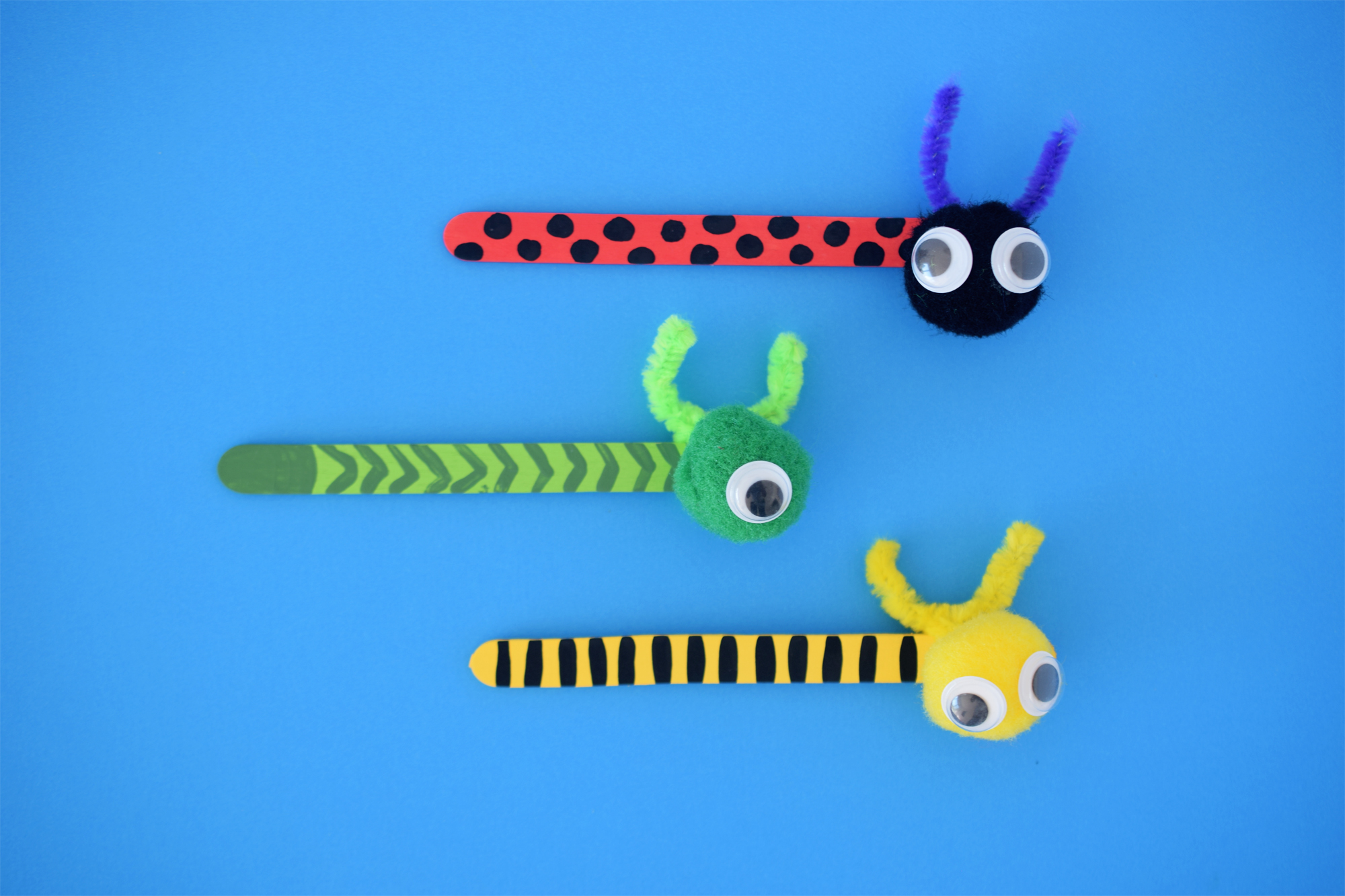 bug insect bookmark kids craft