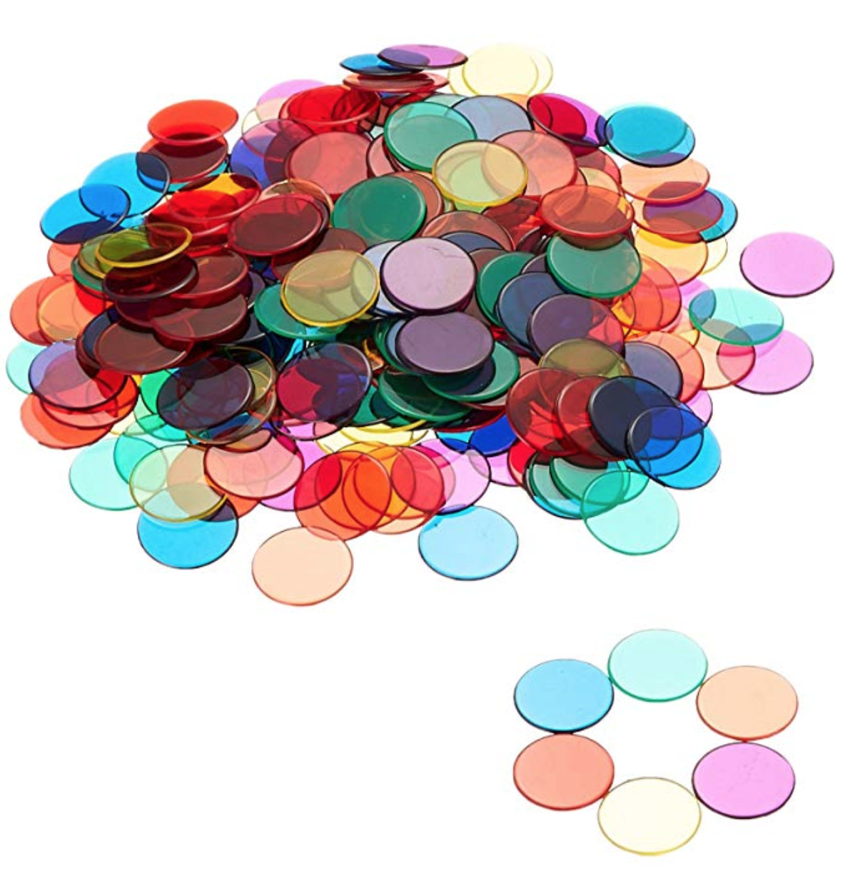Color Counting Chips