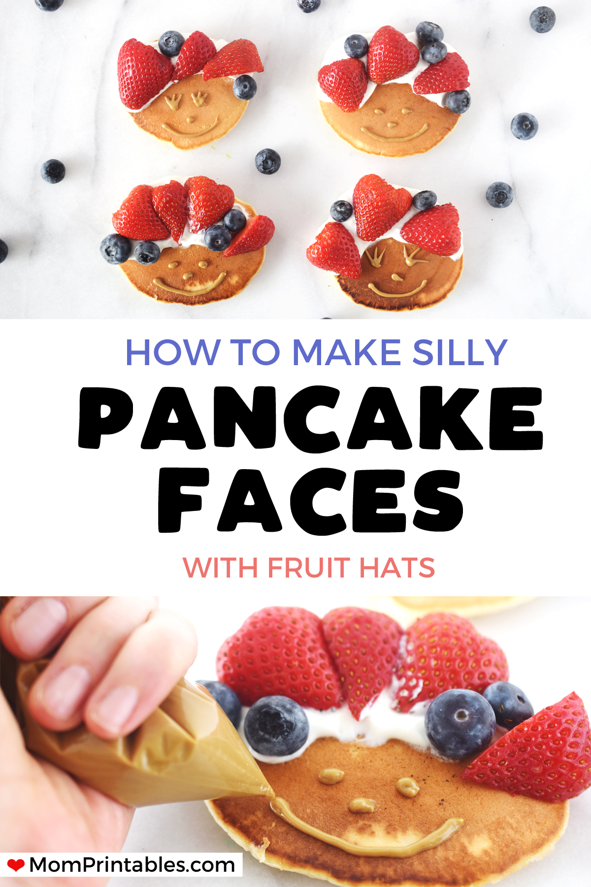 Pancake faces for kids | Toddler friendly recipes | kid friendly recipes | funny | silly | smile | fun | peanut butter | fruit | sunbather | simple | greek yogurt | healthy breakfasts | food recipes | meals | #kidrecipes #pancakes #pancakefaces #toddlerfriendlyrecipes
