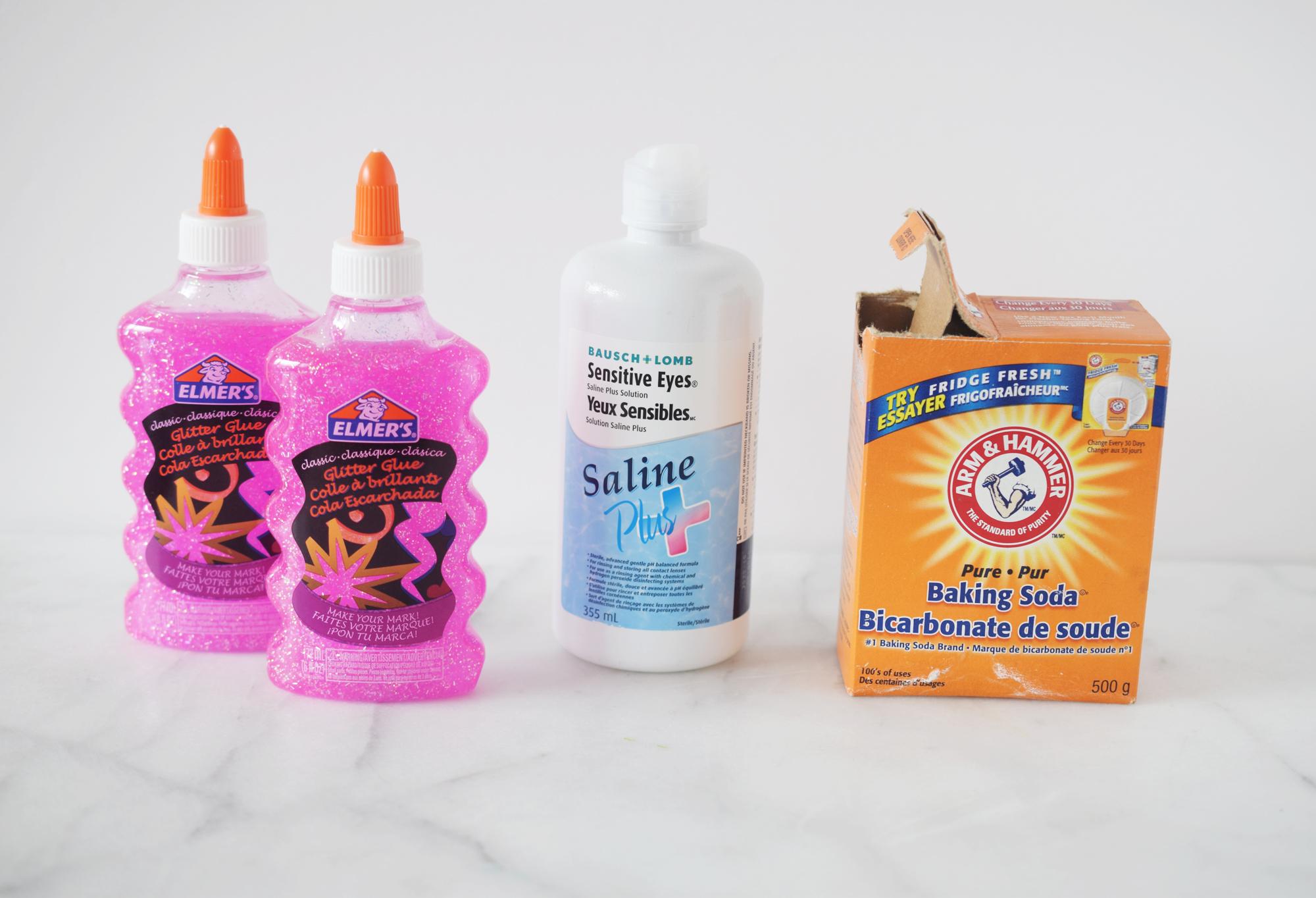 How To Make Glitter Slime — Mom Printables - Simplifying Motherhood