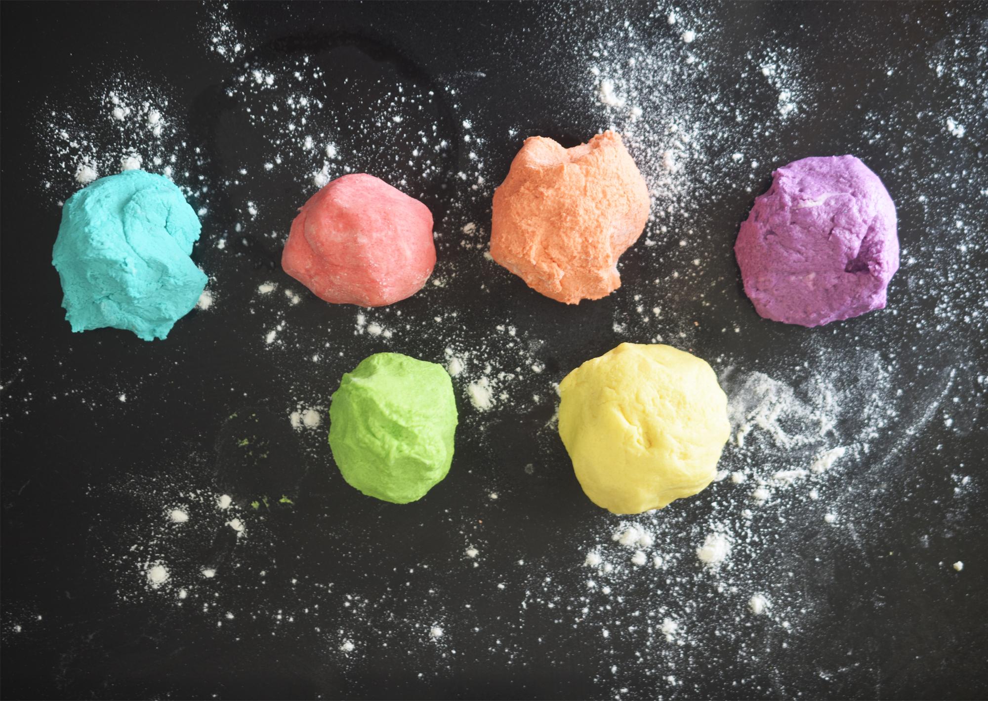 Salt Dough Rainbow Kids Craft