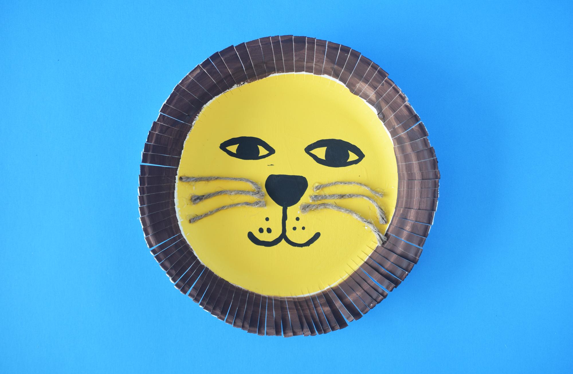 Lion Craft Mask for kids