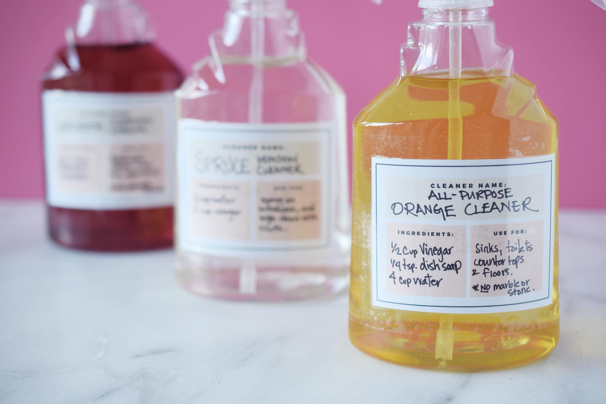 Zero Waste Homemade Scented Cleaning Vinegar