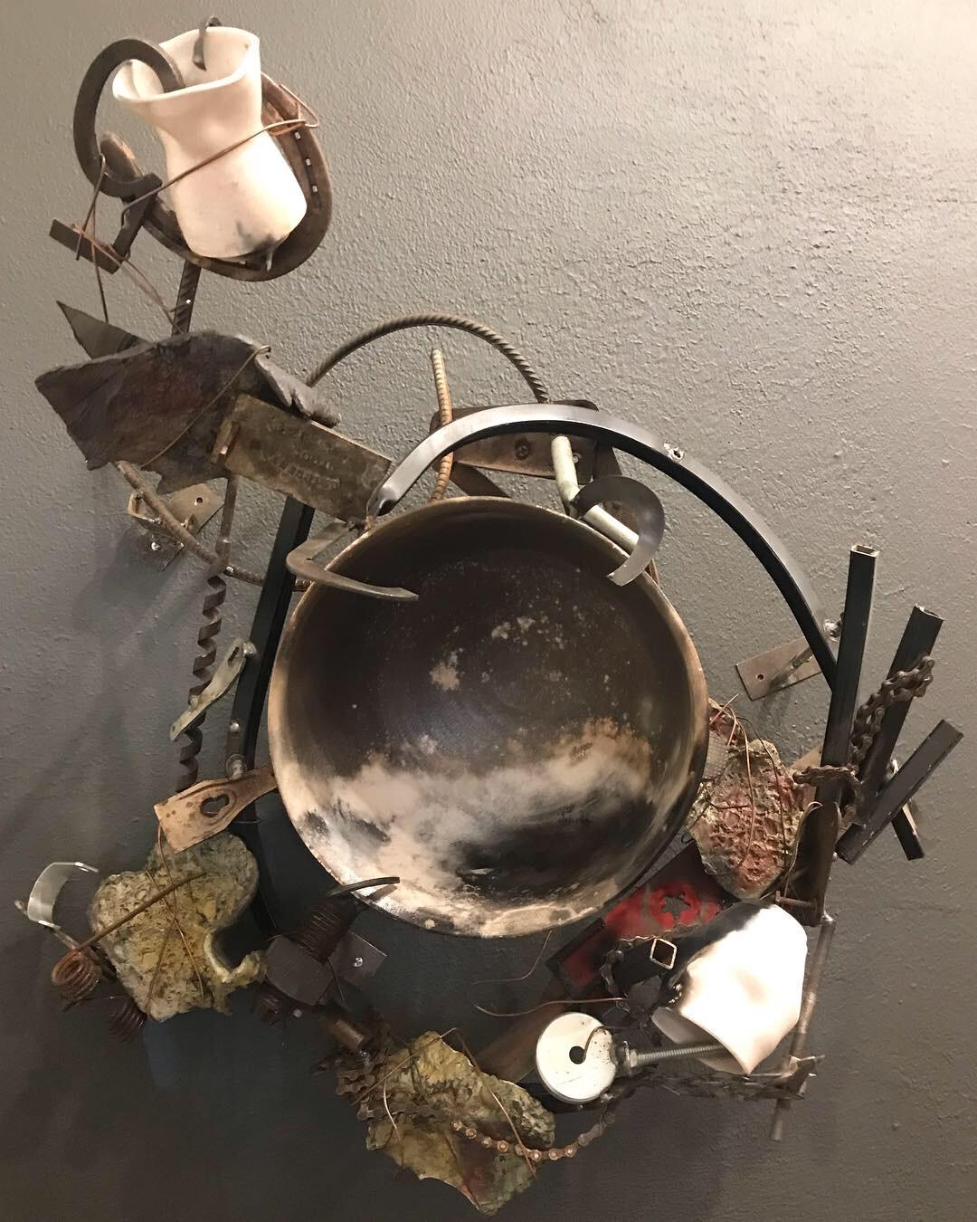 """""""Nightscape"""" by Ben Craigie, mixed media sculpture"""