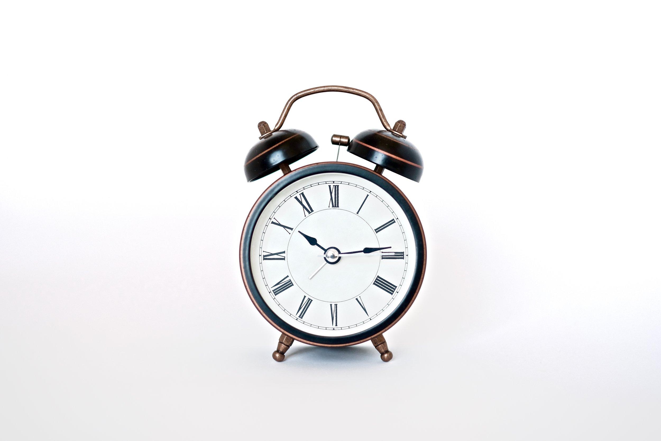no more snooze alarm -