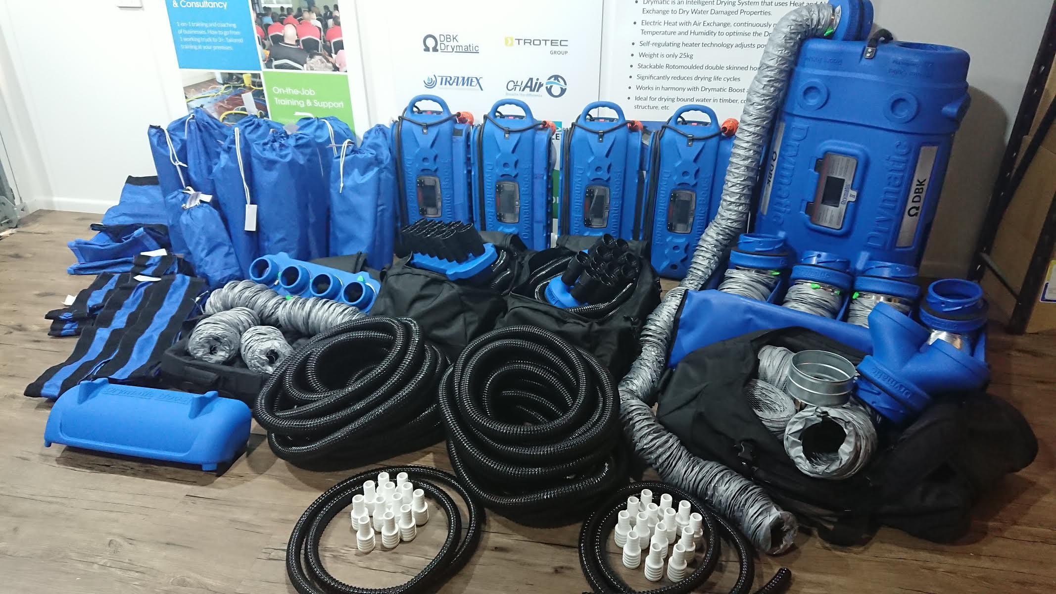 The Drymatic Expert Restorers Start-Up Kit