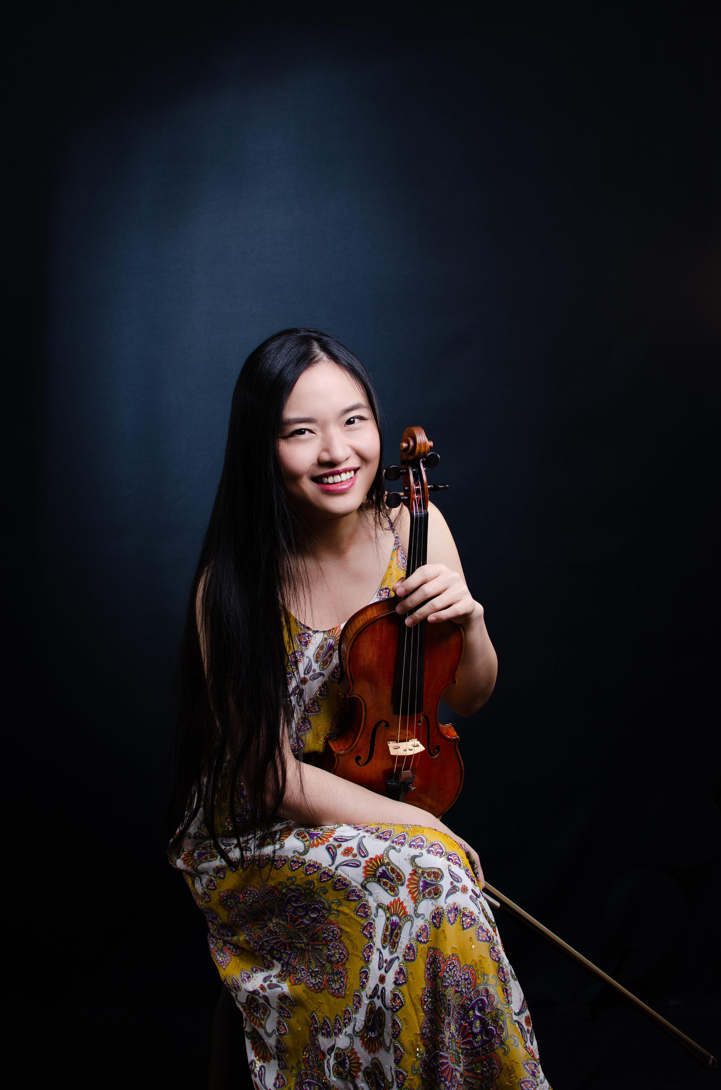 Cindy Tien-Hsin Wu, Violin   Associate Director