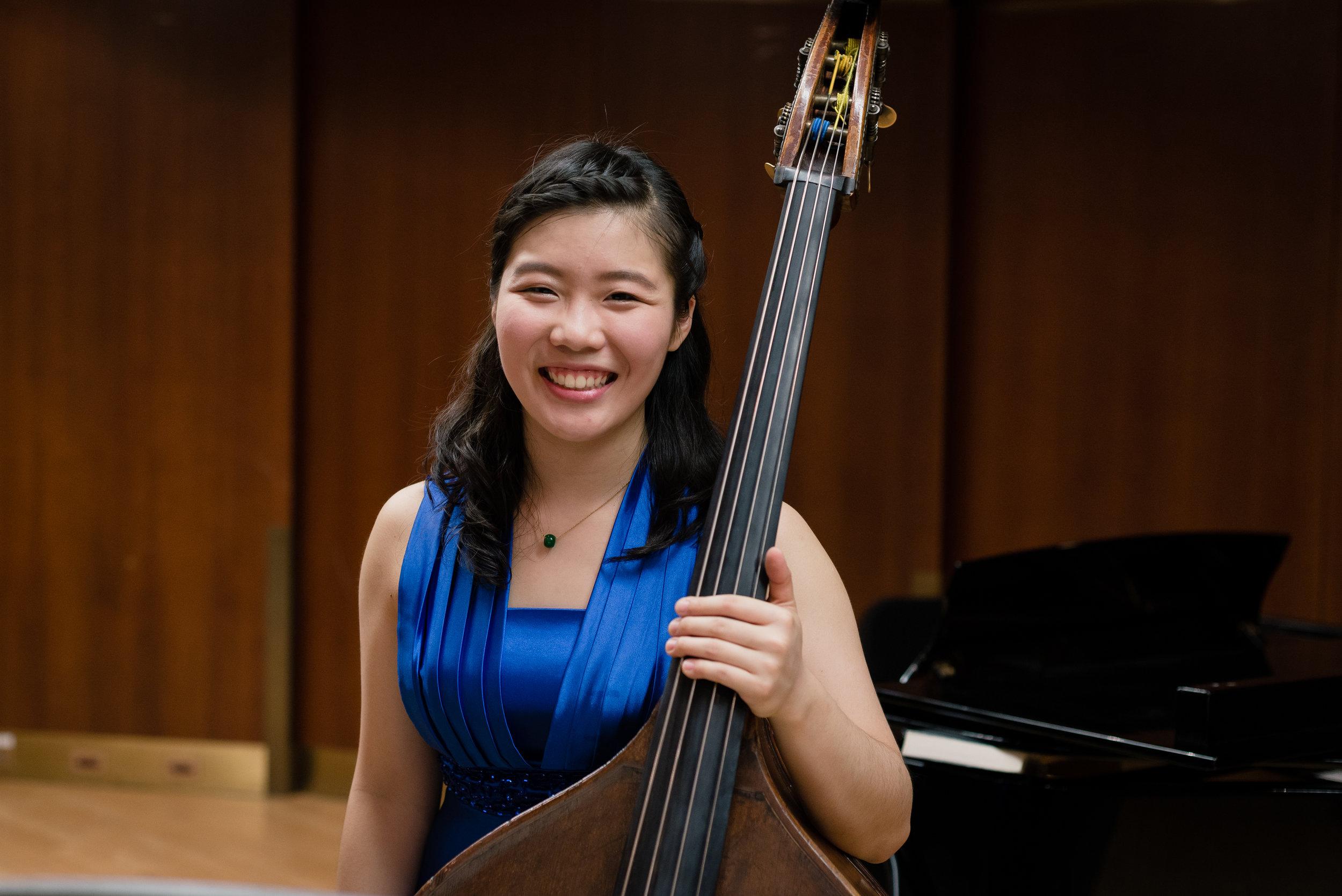 Yi-Hsuan Chiu, Double-Bass