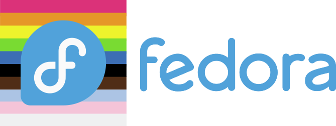 new fedora logo w updated pride flag.png