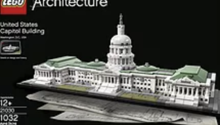 LEGO Architecture 21030 United States Capitol Building Kit (1032 Piece) - For STEM