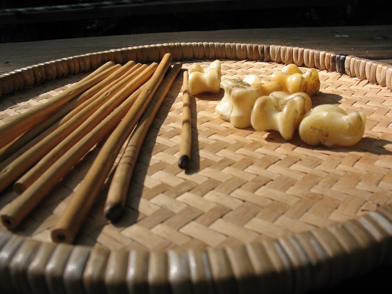 Astragalus bone dice game