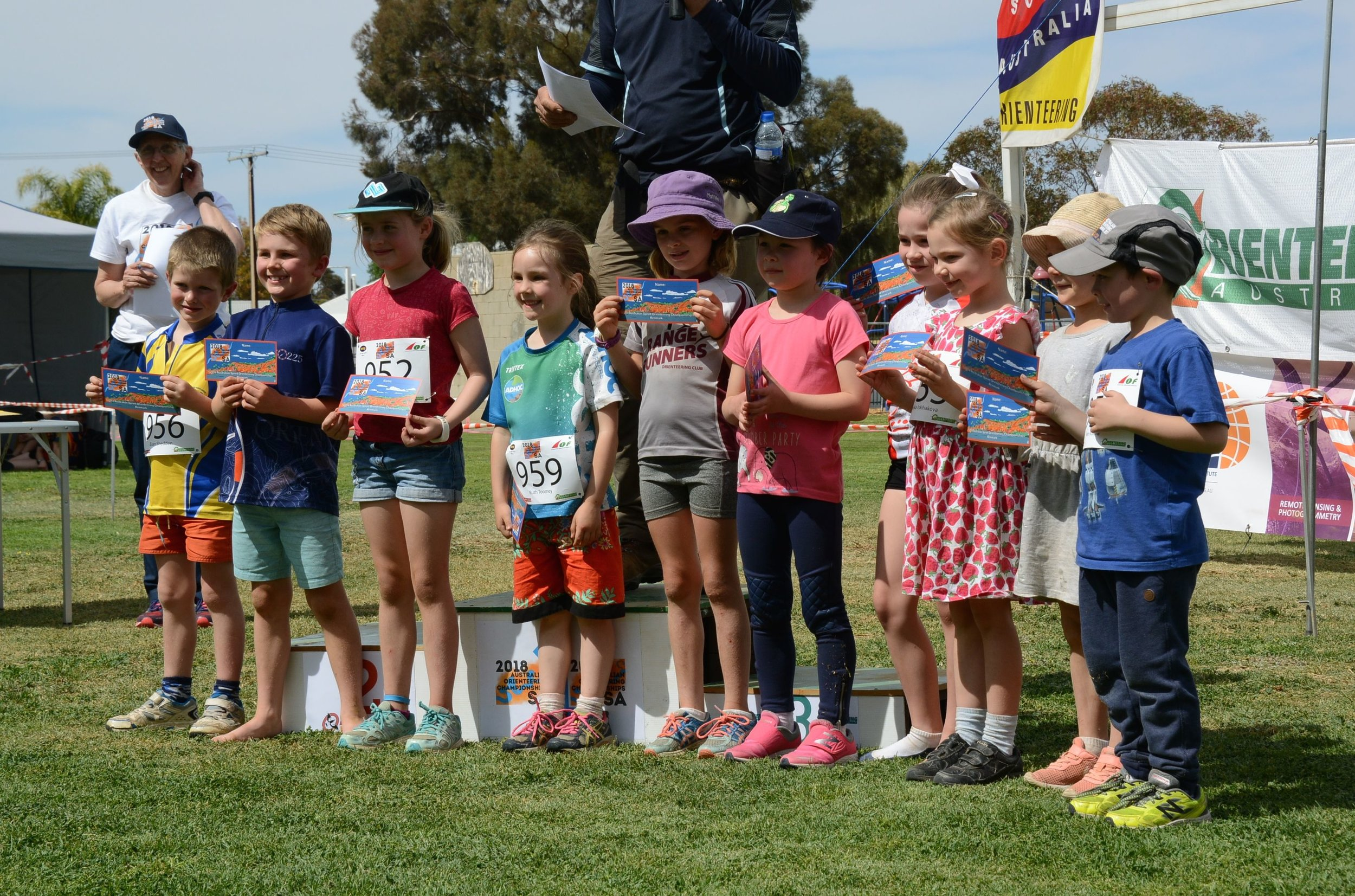 One of our young 'Sneakers' at the Australian Championships in 2018