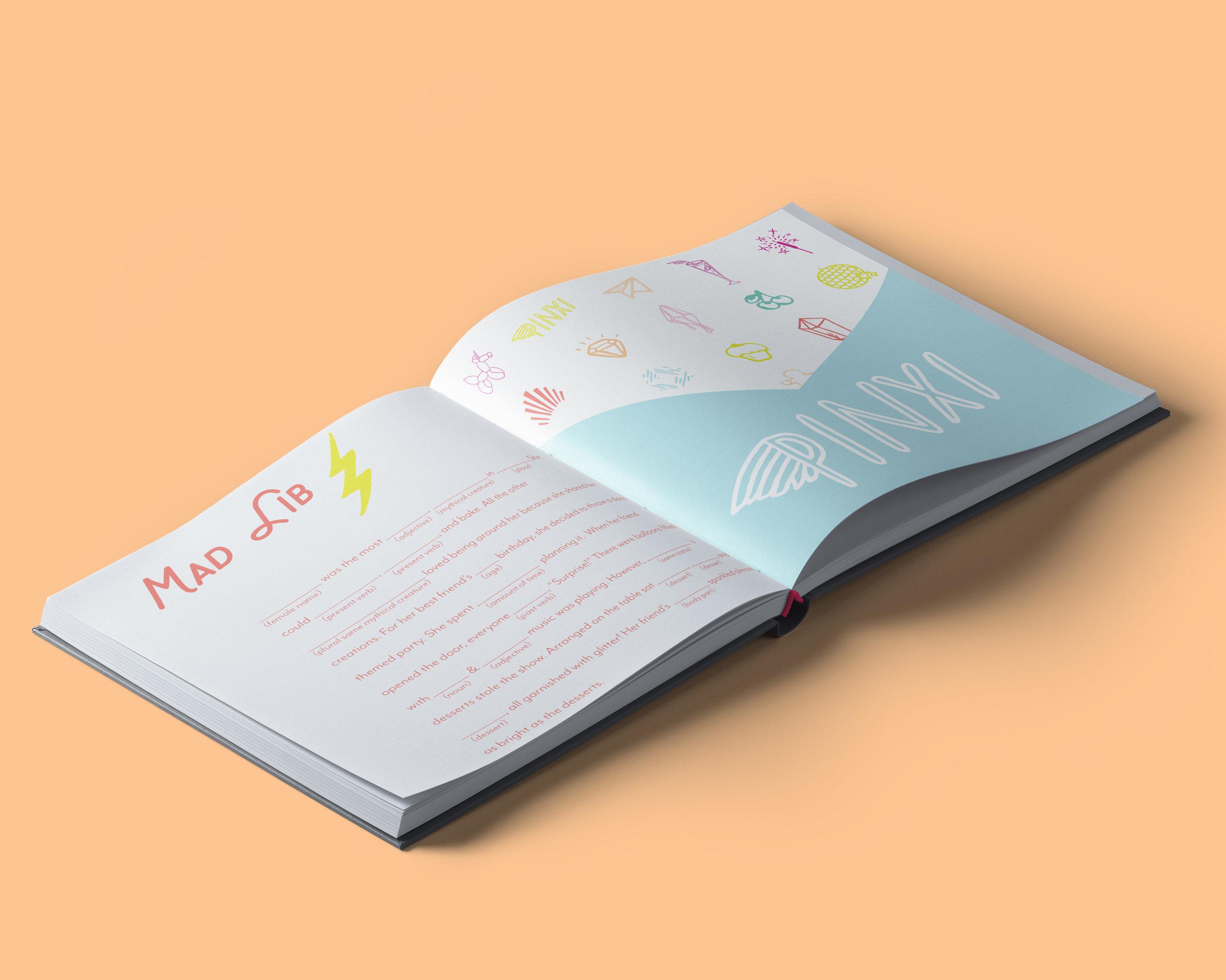 Mad Lib & Sticker Sheet