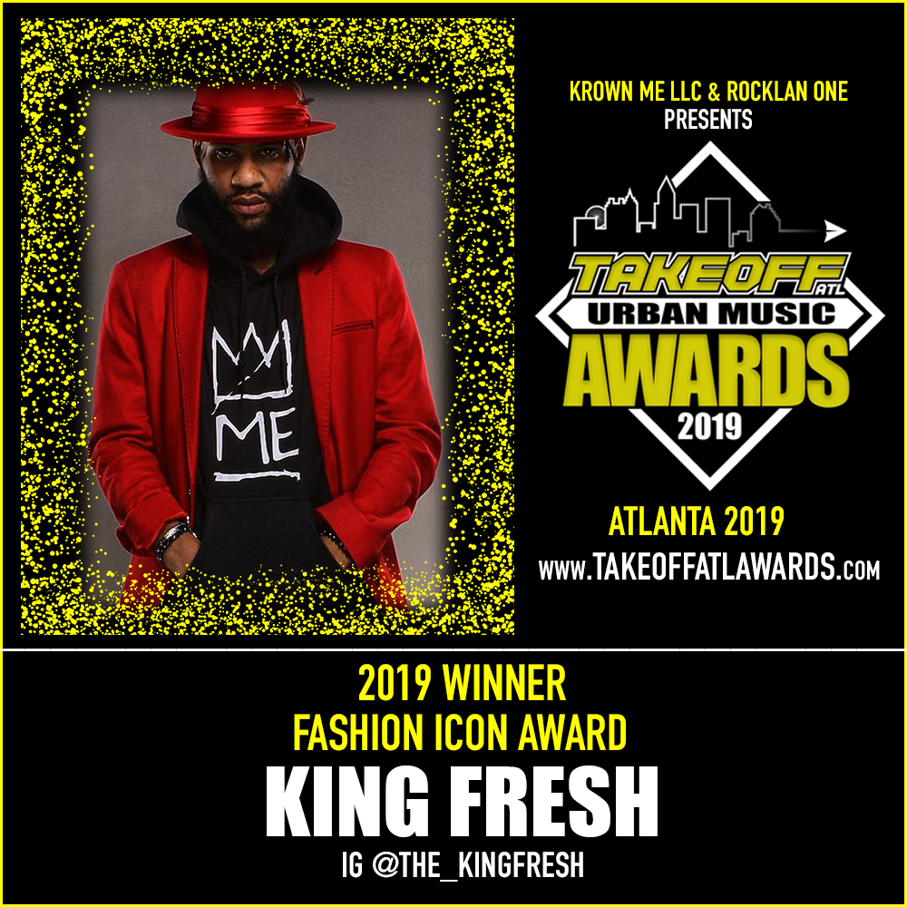 2019 WINNER - FASHION ICON AWARD - KING FRESH