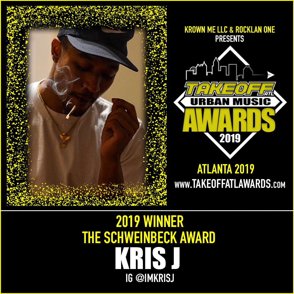 2019 WINNER - THE SCHWEINBECK AWARD - KRIS J
