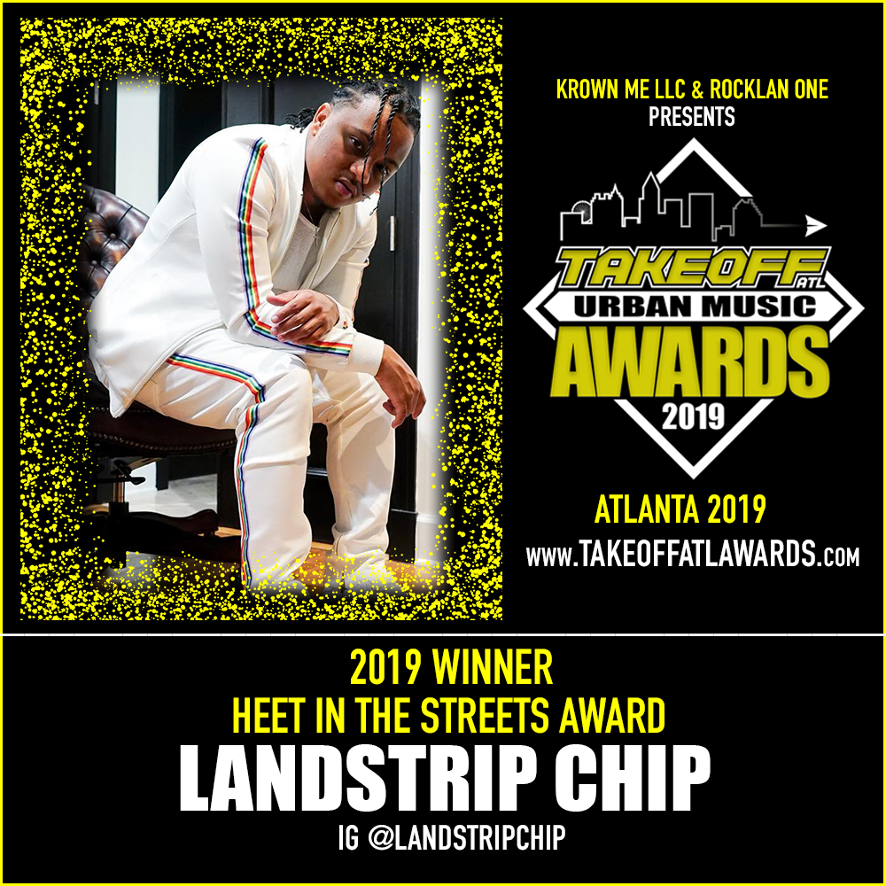 2019 WINNER - HEET IN THE STREETS AWARD - LANDSTRIP CHIP