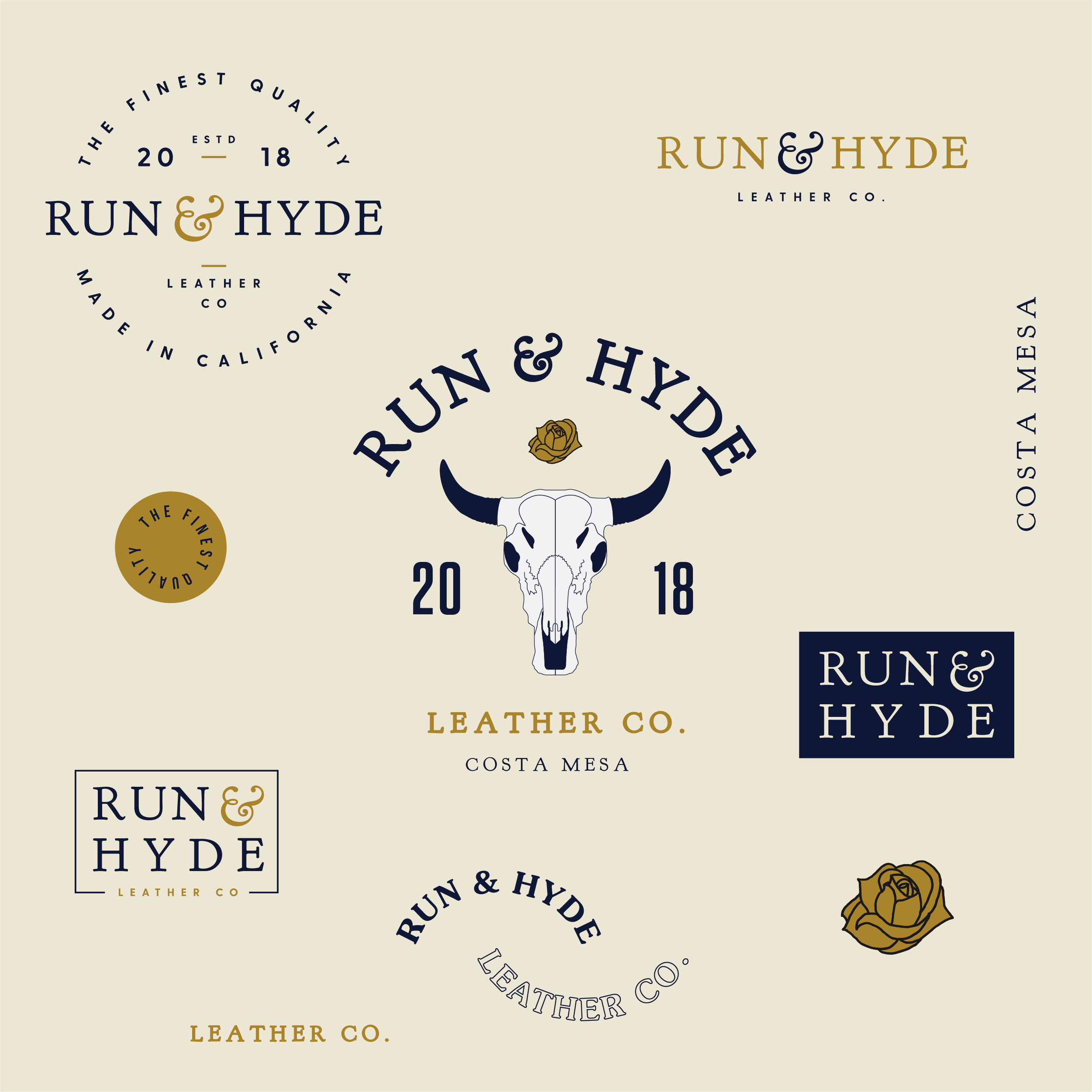 run hyde leather branding faceplant advertising agency austin run hyde leather branding