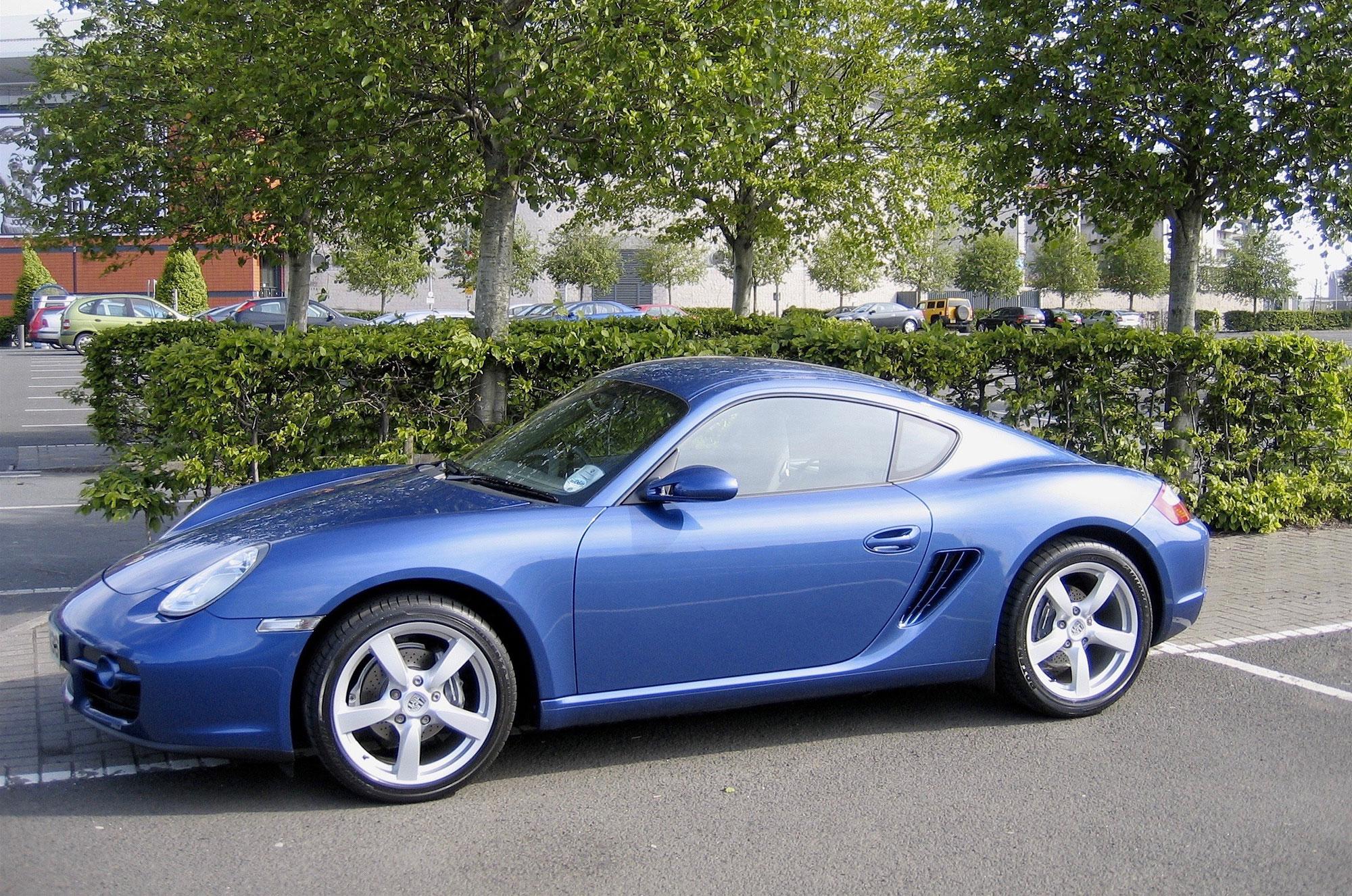 2007 Porsche Cayman 2.7