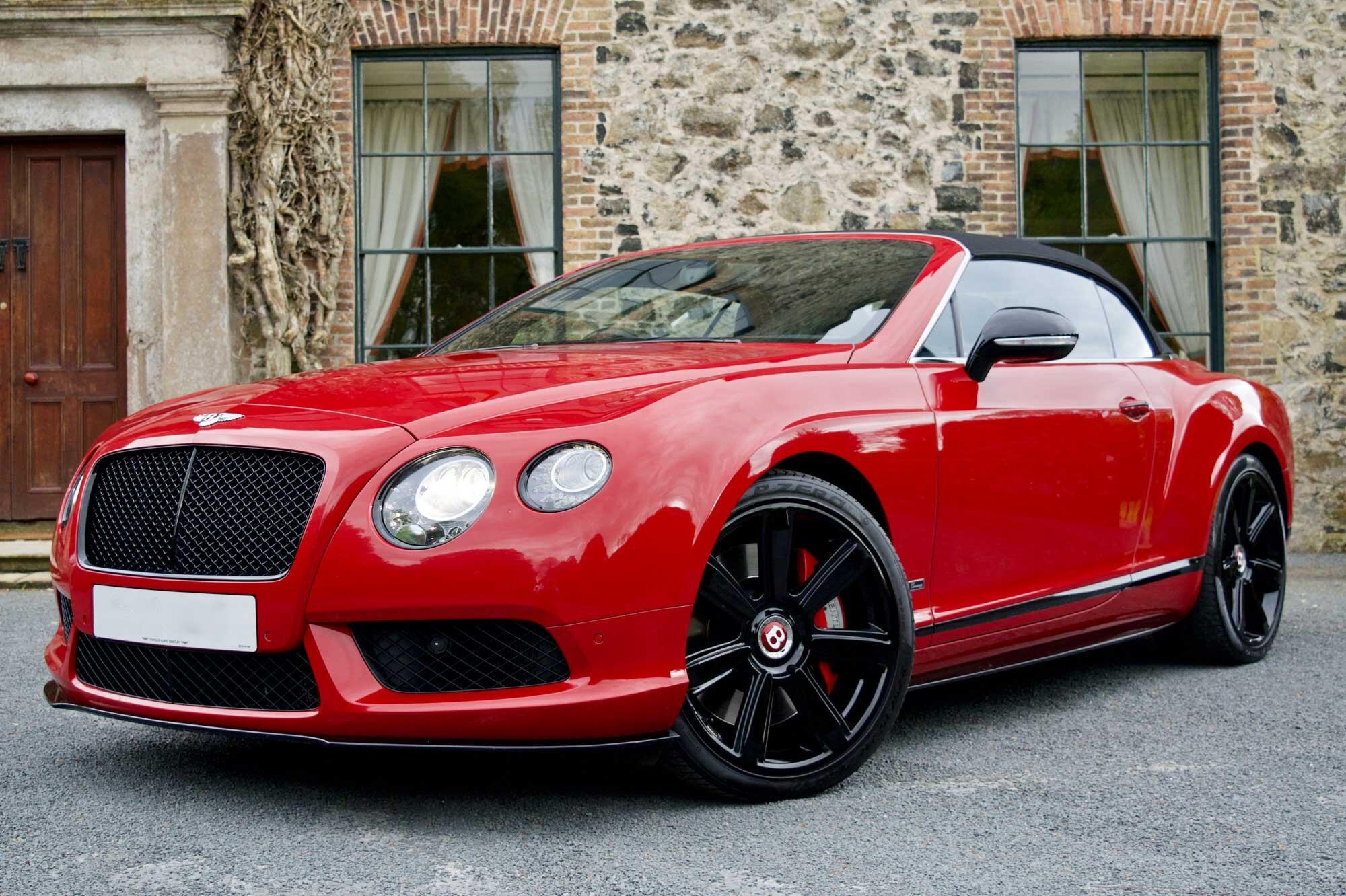 2015 Bentley Continental 4.0 V8 GTC S 2dr
