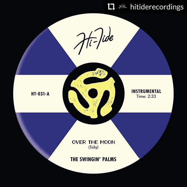 "@hitiderecordings #overthemoon | @swinginpalms' debut single ""Over the Moon"" will release January 4 on all digital platforms!  4-song 7"" vinyl EP coming spring 2019! Listen at hitiderecordings.com, pre-order at theswinginpalms.bandcamp.com 🌴🌕🎶"