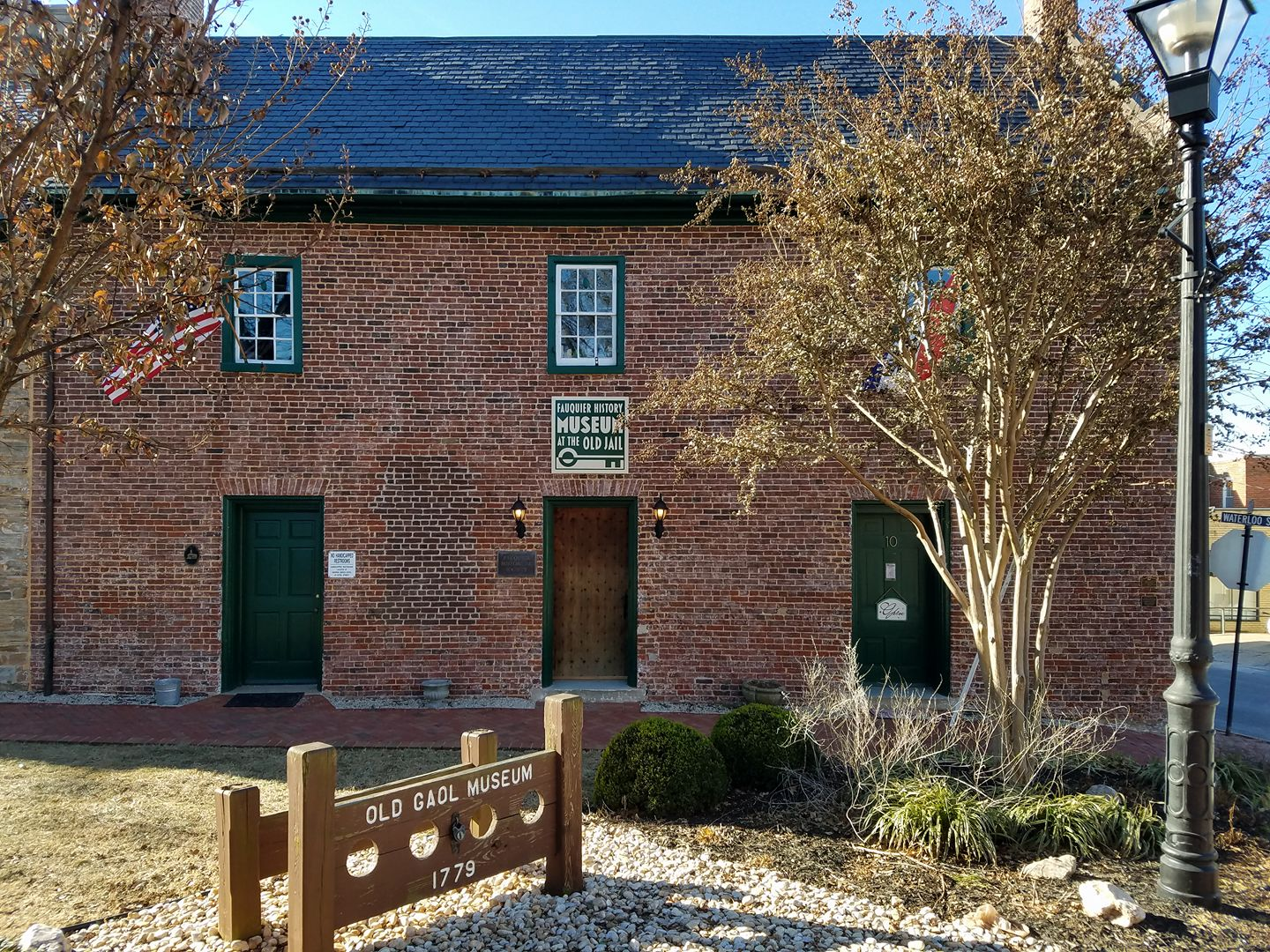 Fauquier History Museum at the Old jail.jpg