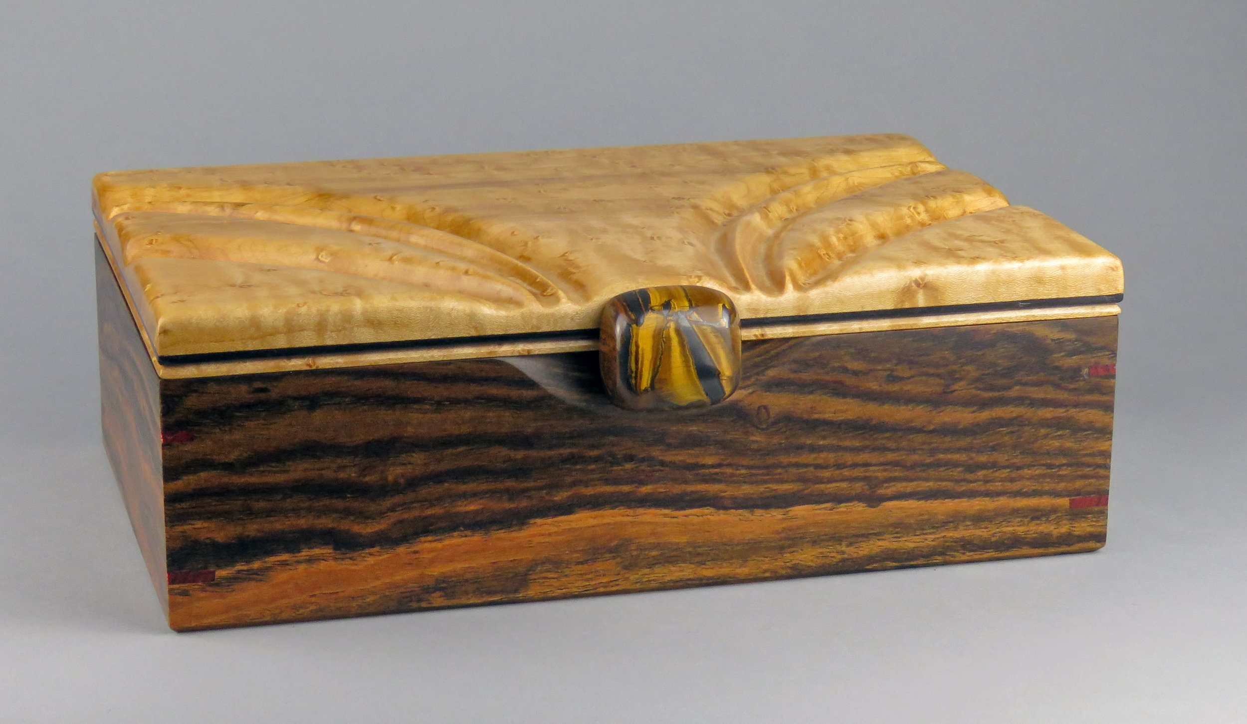 Tiger Eye Jewelry Box: $360 SOLD