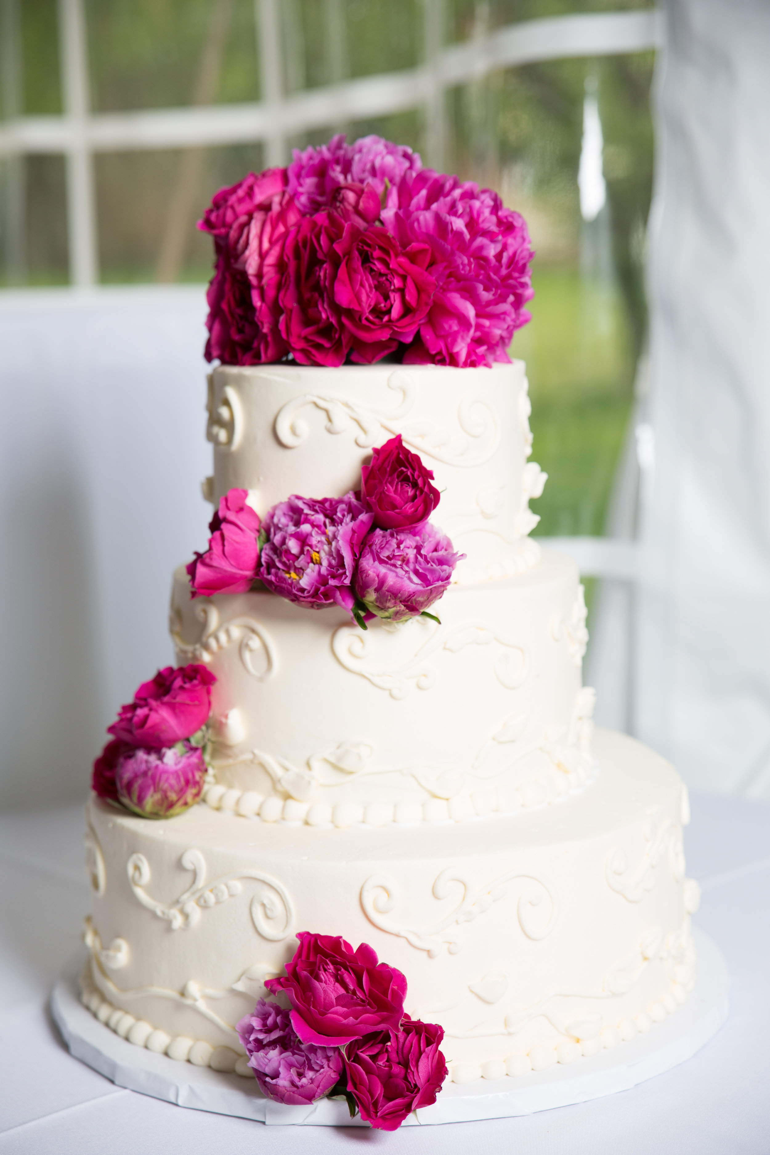 The True value of photography is it helps you remember this beautiful cake.