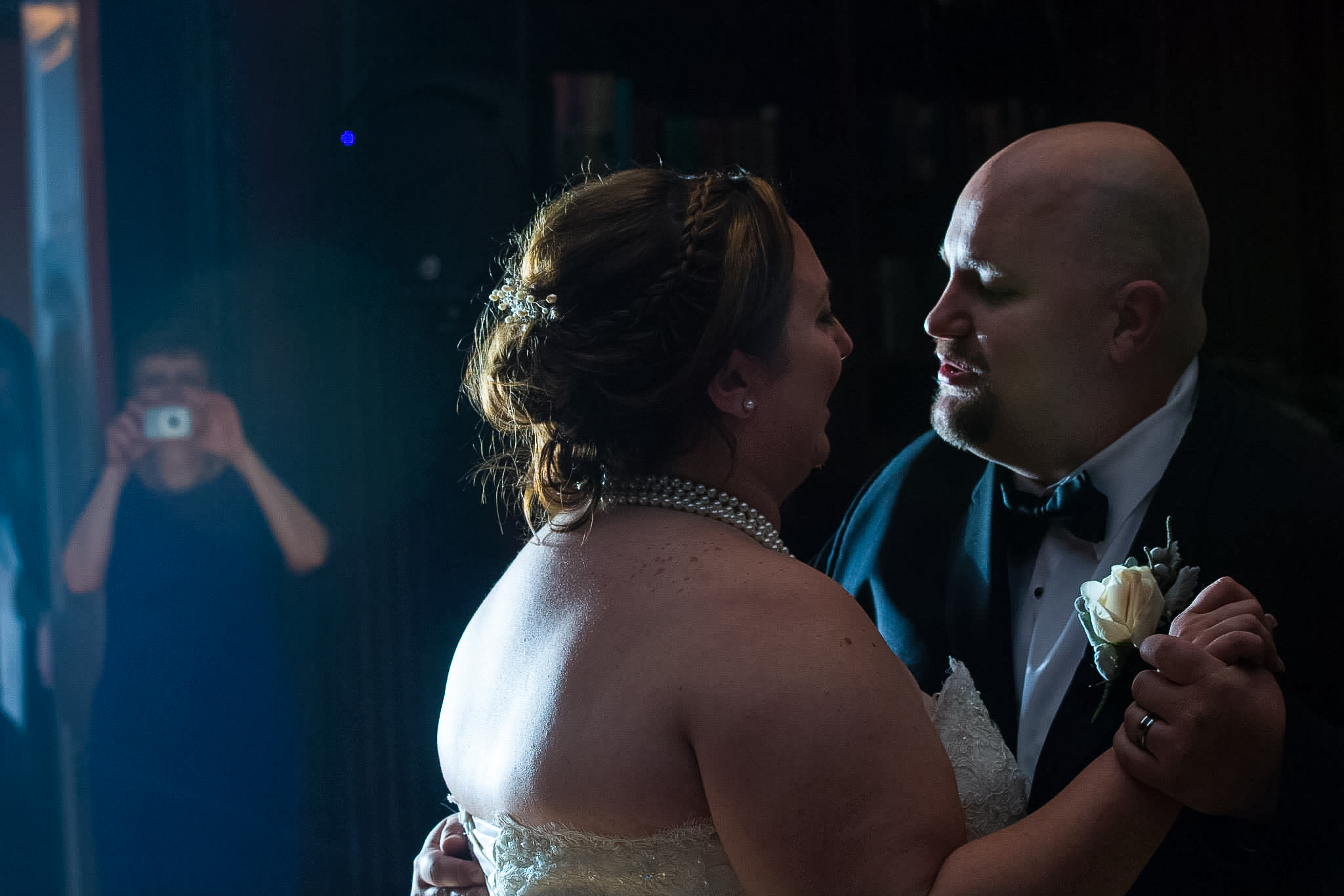 The first dance as husband and wife.