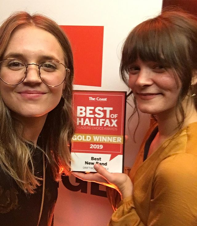 Thanks to @faiwatson and @r_parks for picking up our 'Best of Halifax' gold award this weekend! ✨ Another thanks goes out to everyone who voted and @thecoasthalifax for the support❤️ #driftwoodpeople