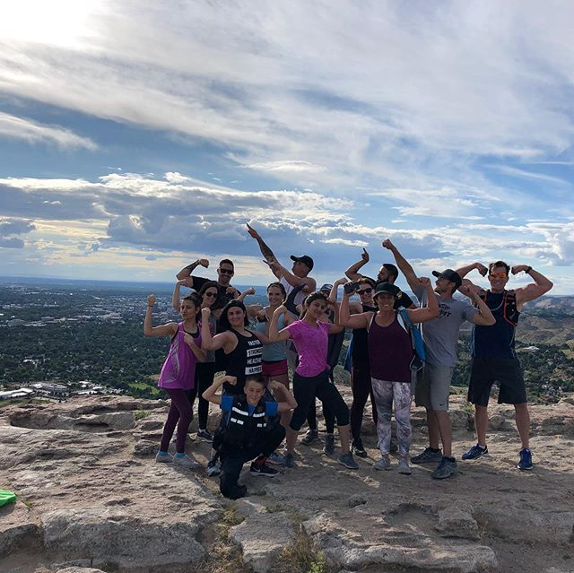 Another great hike with some rockstar people! They each are getting faster and stronger each time! Can't wait for our next one!  Join us for the next one. DM us for more information! • • • #boisefit #fitness #hiking #tablerock #groupfitness #challengeyourlimits #boisepersonaltrainer #treasurevalleyidaho #powercouple #goals #entrepreneur #motivation #teamgst #boisepersonaltraining #workouttogether #getfit #stayhealthy #joinus