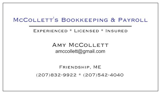 McCollett's Bookkeeping and Payroll