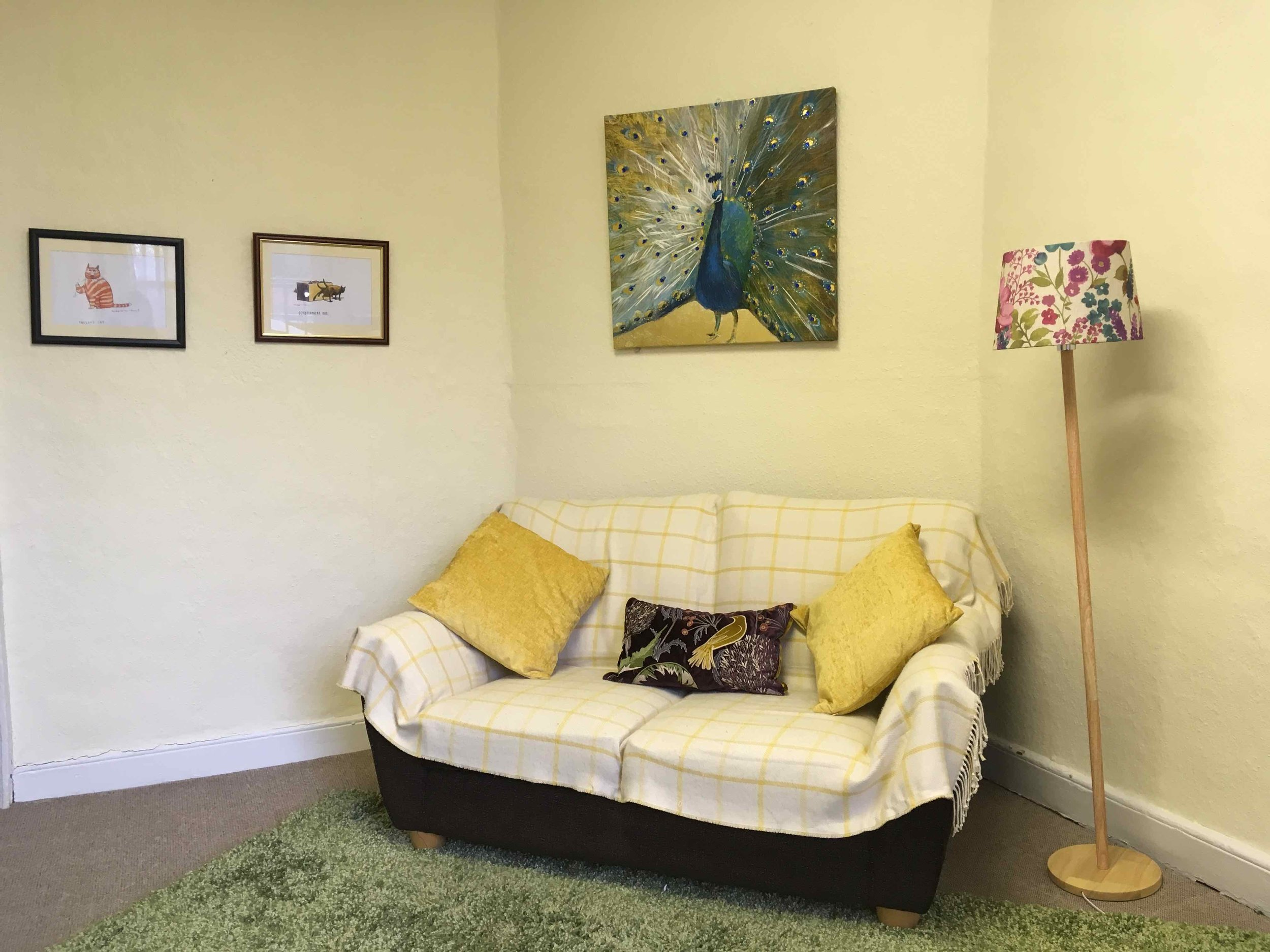 Therapy room in Chester