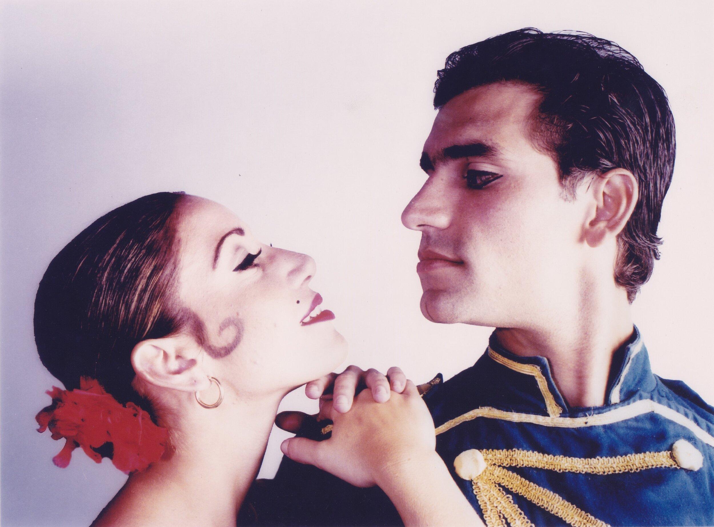 """Carmen"" de Ballet Concierto de Puerto Rico 1998 junto a Rebecca Canchani, Bailarina Principal de BCPR"