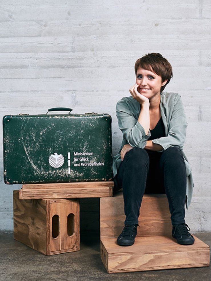 Glücksministerin – Gina Schöler