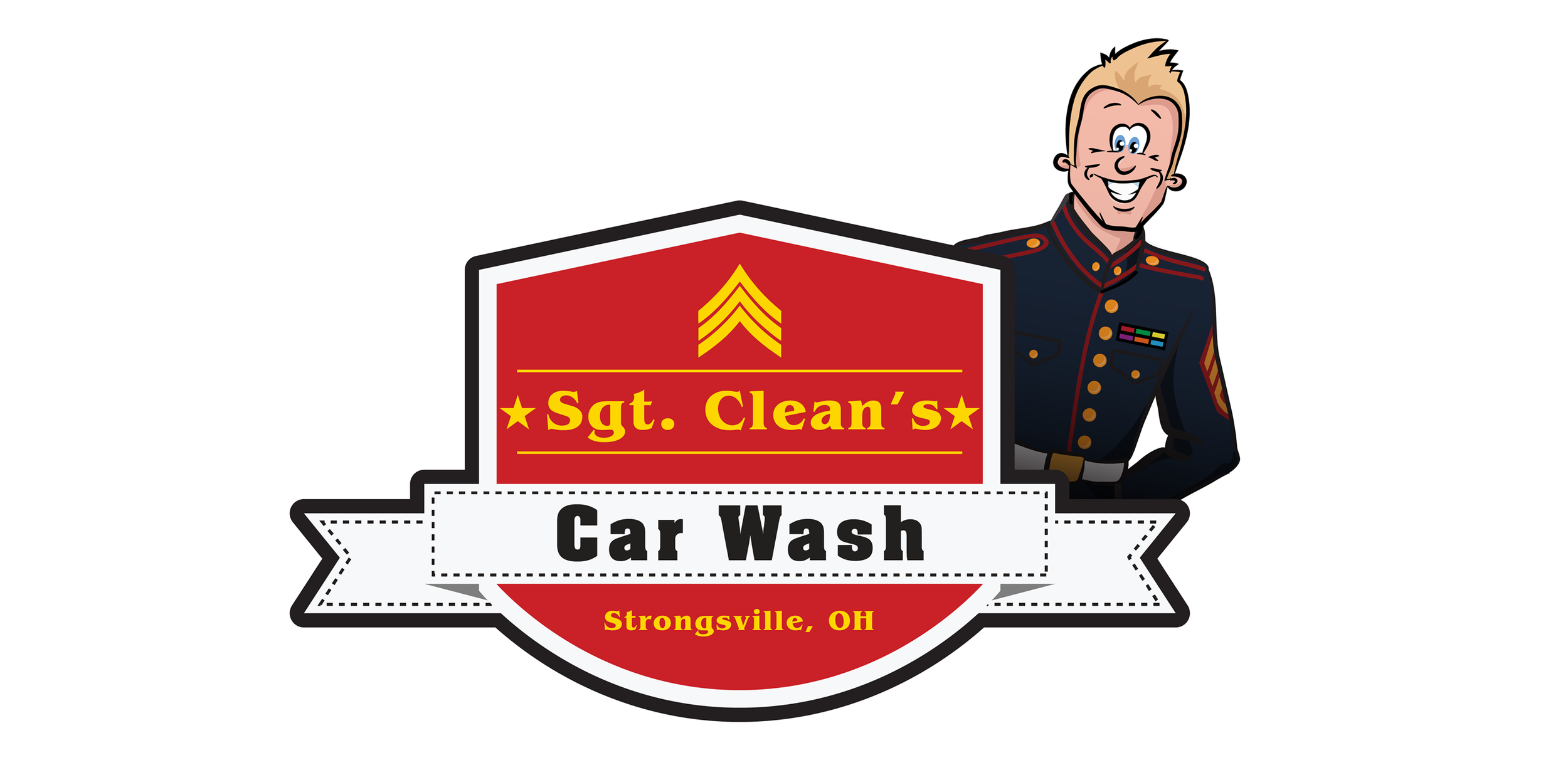 """Veteran-owned and operated since 2013, our mission at Sgt. Clean's Car Wash is to provide the highest quality car wash and superior customer service, while serving as positive role models in our communities.  Winner of the Cleveland Hot List """"Best Car Wash"""" in 2016, 2017 and 2018, Sgt. Clean's Car Wash operates five locations in Northeast Ohio."""