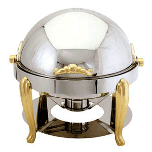 Round Roll Top Chafer (4quart)  -  $60/ea