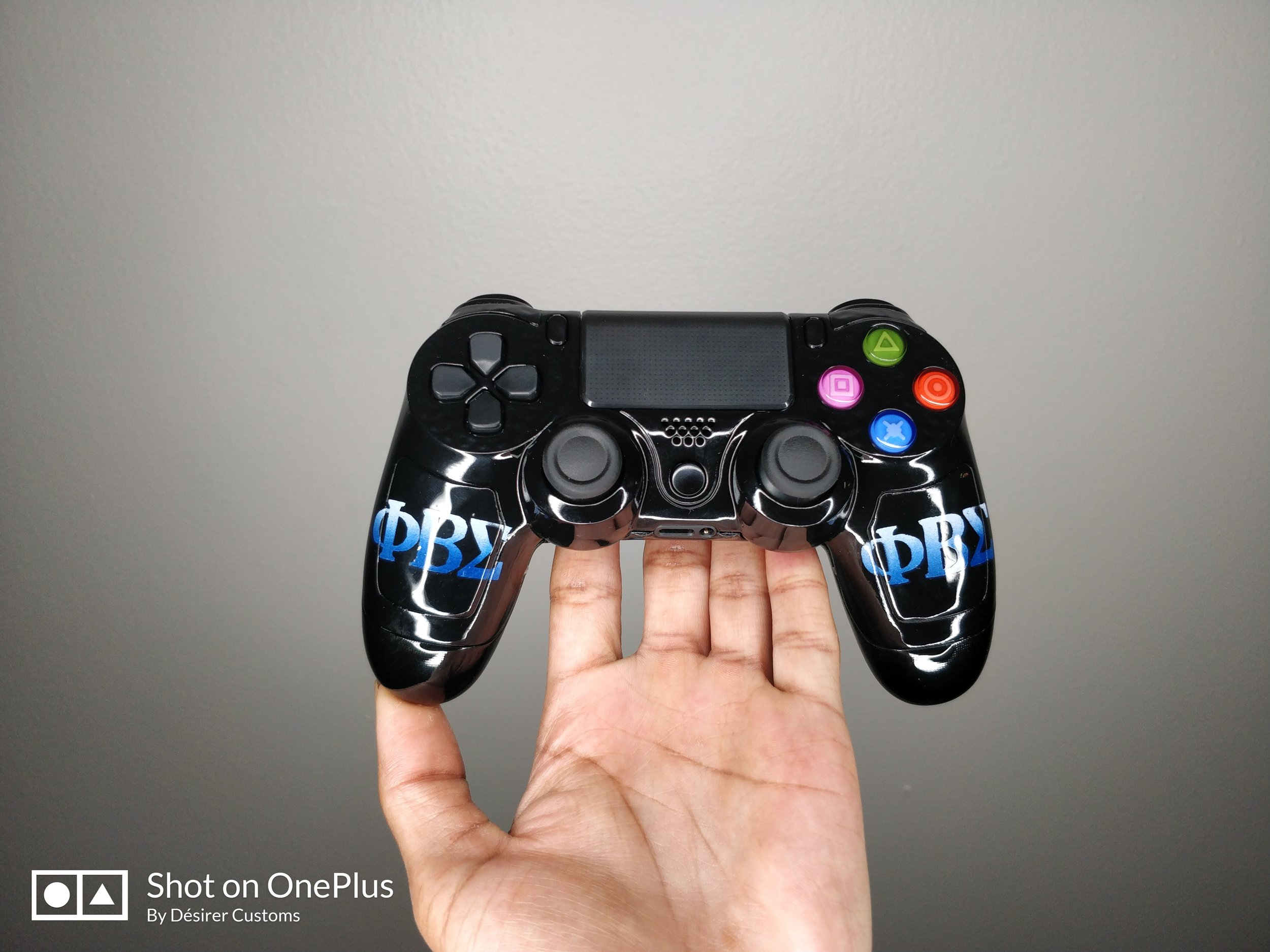 Gaming in Style - Beta Phi Sigma PS4 Controller