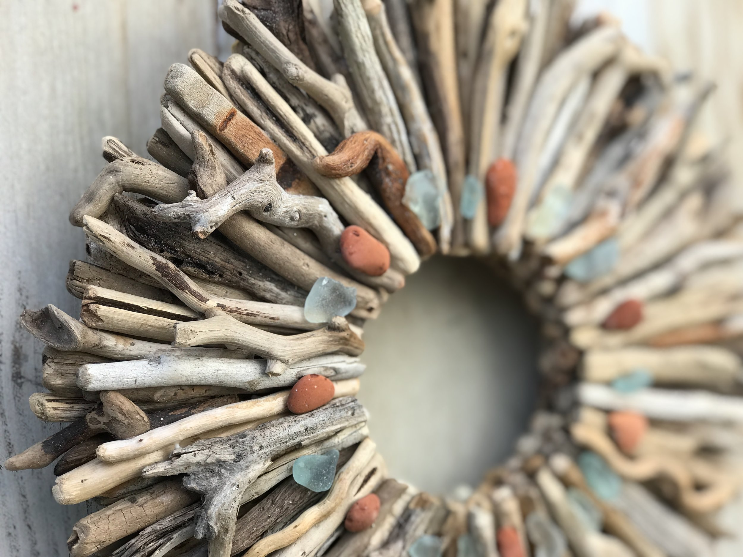 Driftwood Wreath Workshop - CLICK HERE to schedule a private event.