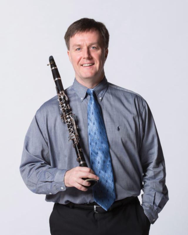 D Ray McClellan, clarinet -