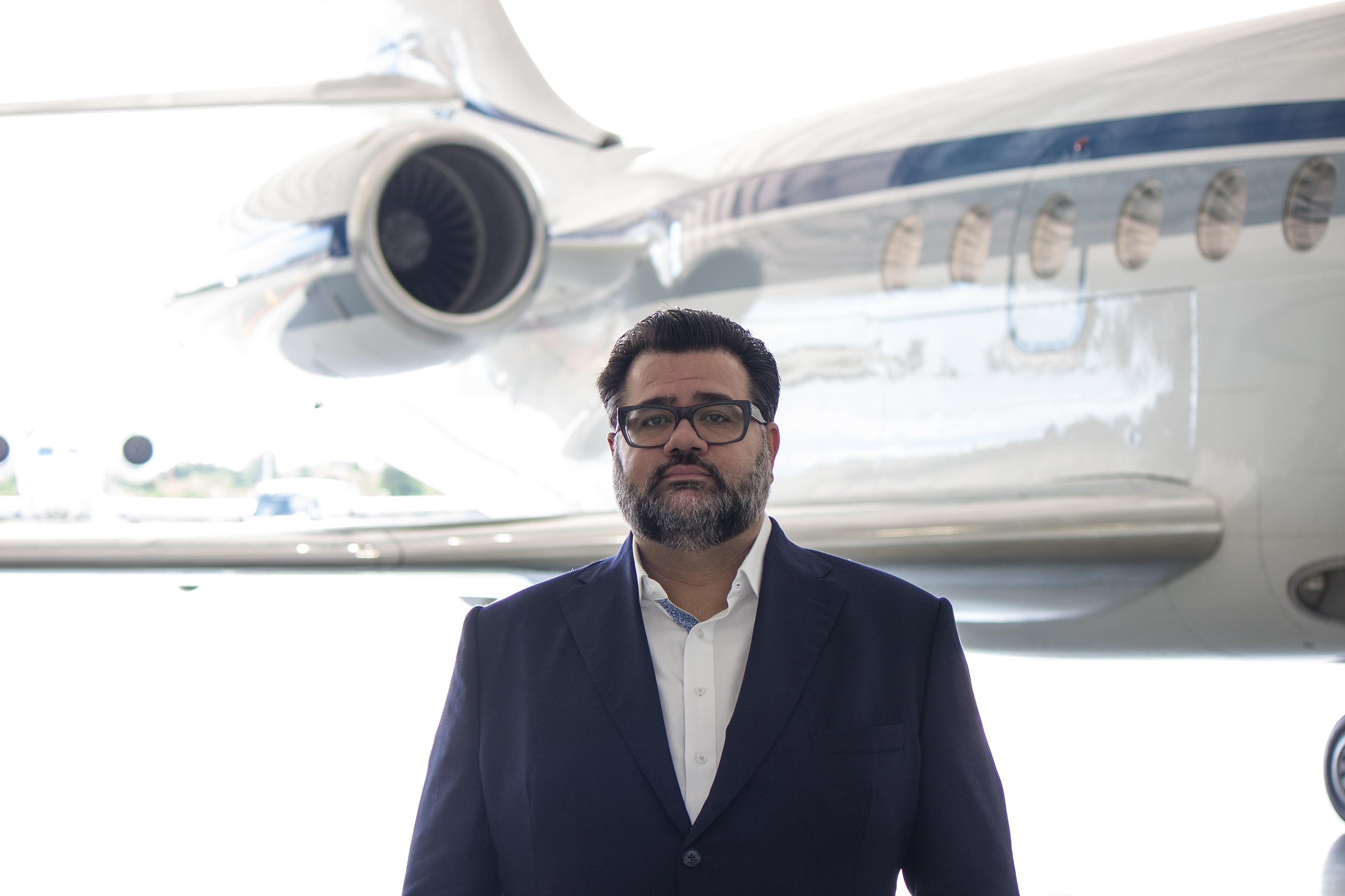 Manny Kapranos, Director of Sales & Marketing for SmartJets & VIP Completions