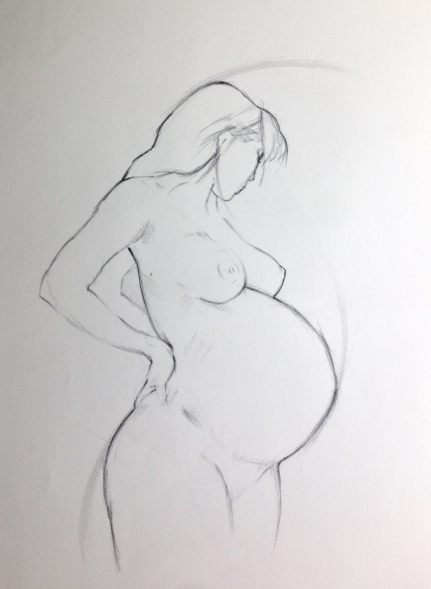 Motherhood II - commissioned by an obstetrics clinic