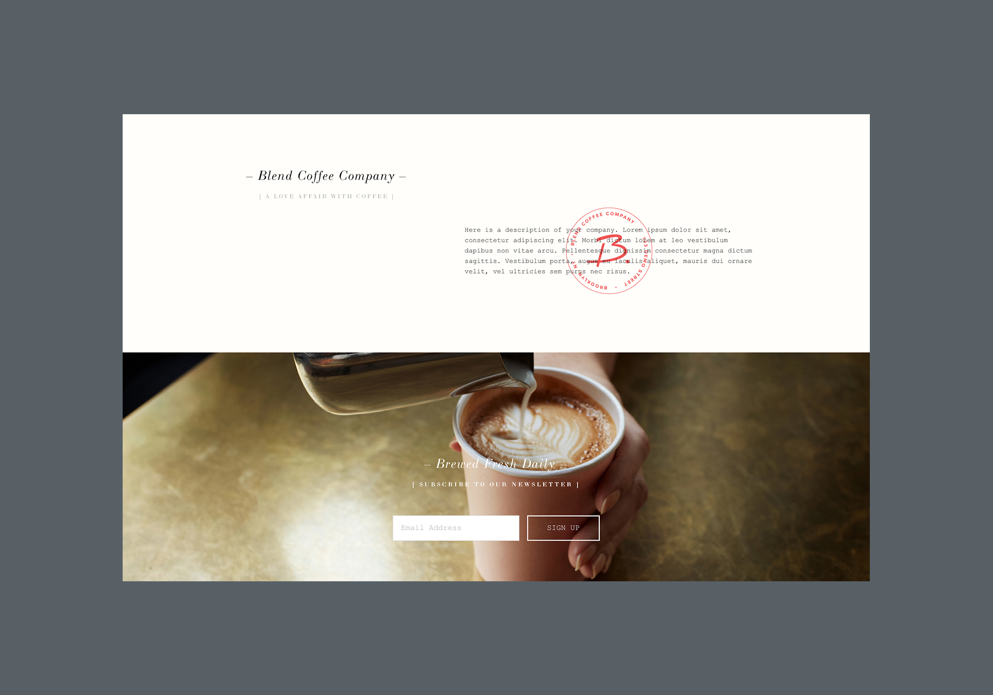 Templates Squarespace