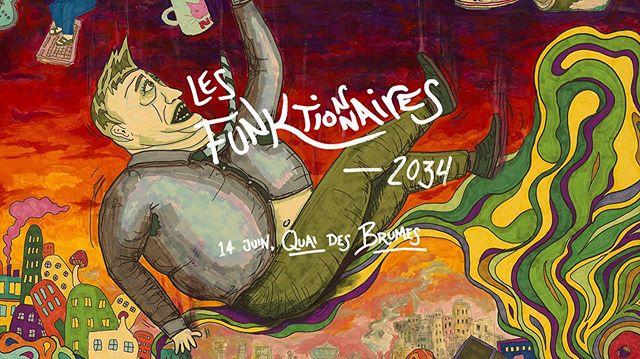 Les billets sont maintenant en vente pour le lancement d'album! Visitez notre site web pour réserver votre place!  #lesfunktionnaires #music #musique #francophone #album #band #launch #art #psychedelic #musician #funk #70s #psychedelicart