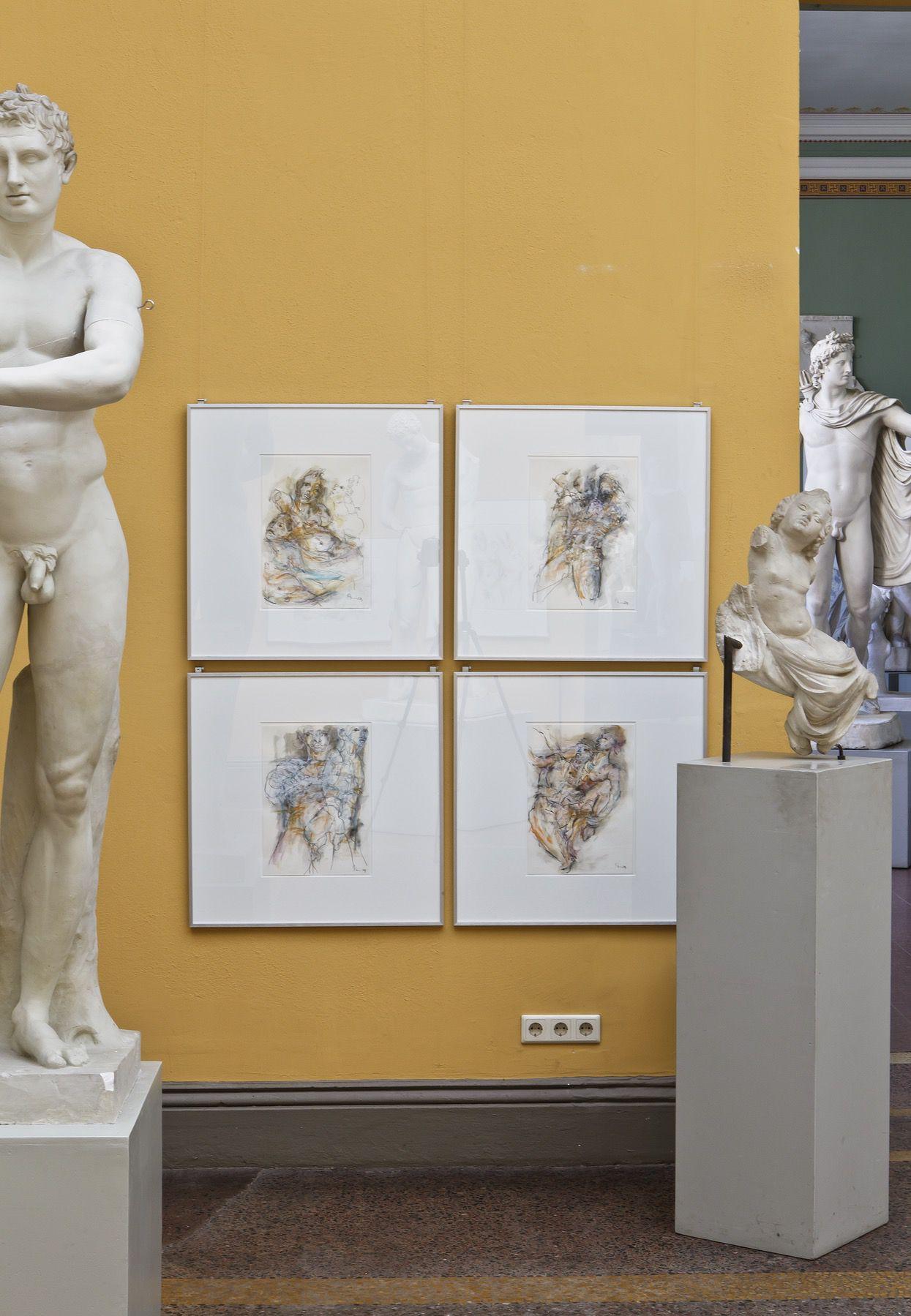 """Ausstellung """"Vergöttert"""" Akademisches Kunstmuseum Bonn 2015 Foto: Jutta Schubert"""