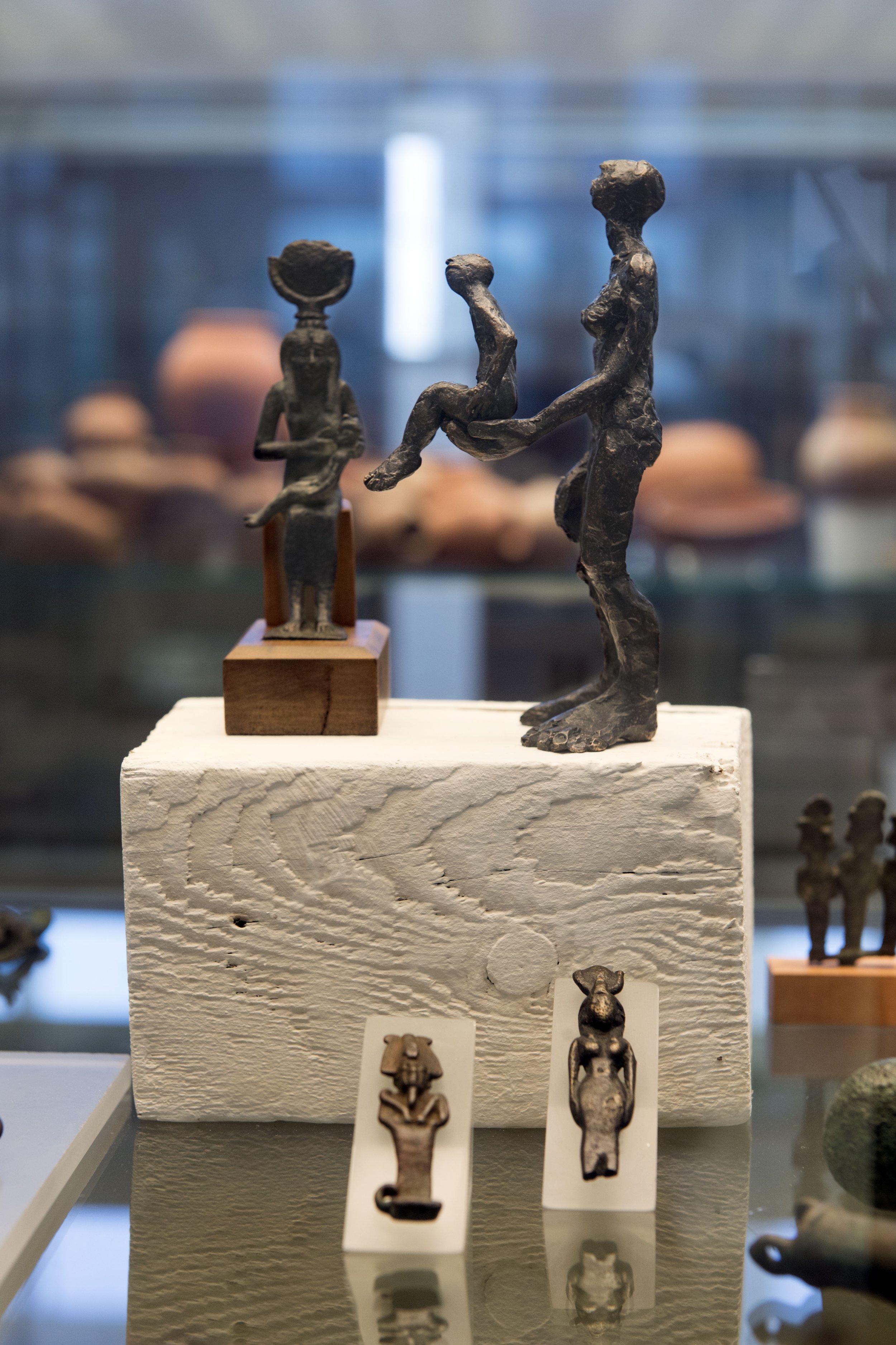 "Ausstellung ""re:animation"" Ägyptisches Museum Bonn 2017 Foto: Thilo Beu"