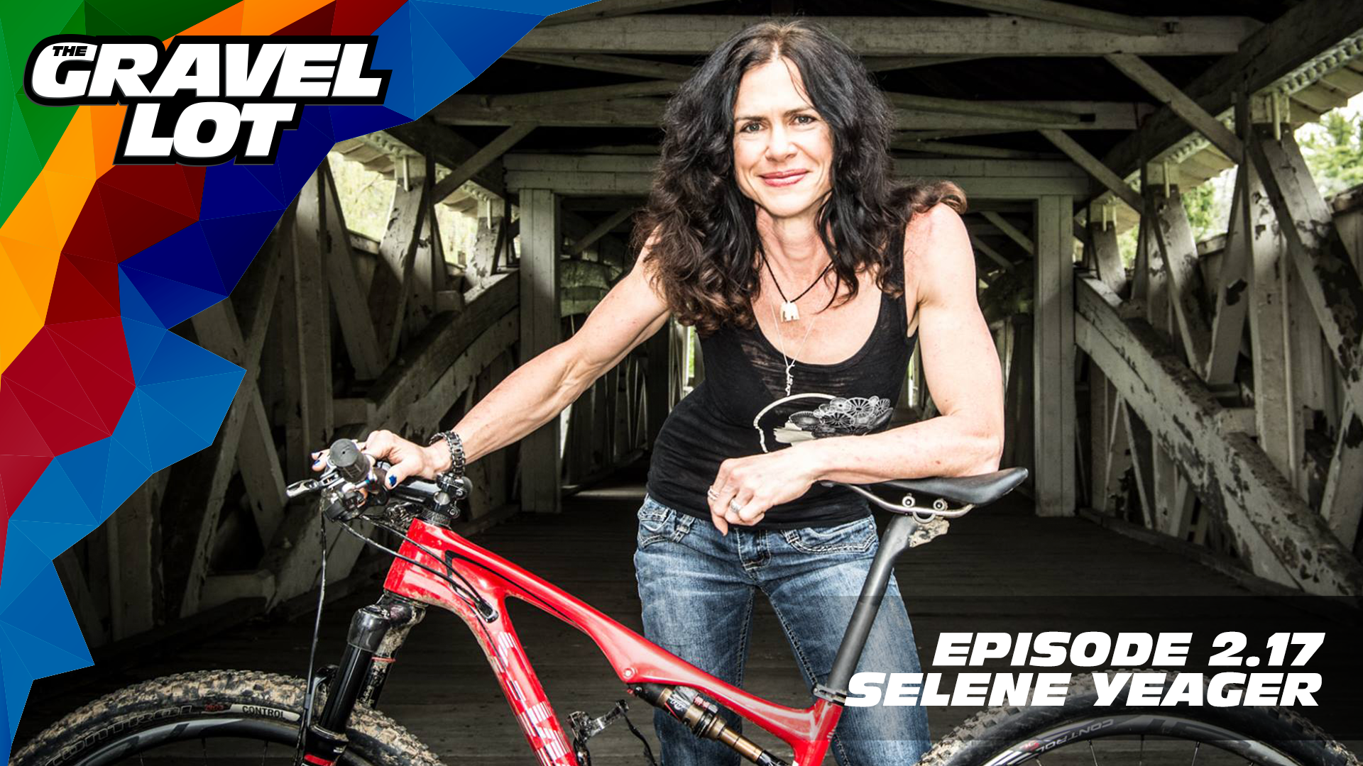 """Episode 69: Selene Yeager is an inspiring ultra-endurance athlete, health and fitness writer, trainer, and SO many other things. She shares her tips on managing life while maintaining a positive mental attitude all while inspiring her readers and followers. Cover photo © Jaime Livingood   DONATE NOW    TGL Spring Fondo Event    Visit The Gravel Lot website for our latest podcast, Real Talk videos, Bonus Content, shop, social media, and everything in between.    Red Kite Ronde Registration    Save 50% on your next RoadID:    Handup Gloves: Use code """"PEBBLES"""" for 20% off EVERYTHING in store.    Be Free Ride Bikes:    Noxgear: Use code """"PEBBLES"""" for 35% off any item.    Magas Law Firm:   Subscribe to The Gravel Lot on the  Wide Angle Podium Network and become a member TODAY!"""