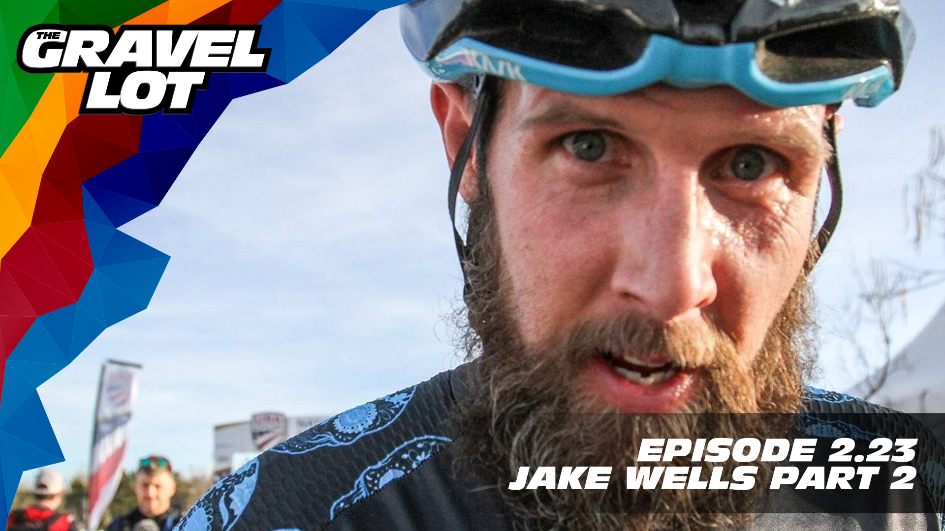 "Episode 74: Jake Wells joins us for a two-part podcast. In part two, Jake explains what ""inspire and motivate"" means to him. It just happens to be the mindset required to become a double US National Champion.    Exclusive Preview of Unknown Country: One man's inspirational journey to the Dirty Kanza XL    Visit The Gravel Lot website for our latest podcast, Real Talk videos, Bonus Content, shop, social media, and everything in between.    Noxgear: Use code ""PEBBLES"" for 35% off any item.    Handup Gloves: Use code ""PEBBLE$"" for 20% off EVERYTHING in store.    RoadID: Save $10 off ANY order over $20.    Magas Law Firm:    Be Free Ride Bikes:    Red Kite Ronde Registration   Subscribe to The Gravel Lot on the  Wide Angle Podium Network and become a member TODAY!   Learn more about Undertipper and download their latest album ""Y'all"" at:  http://undertipper.bandcamp.com/"
